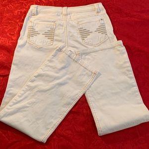 Veloce Atelier White Jeans SZ M EUC